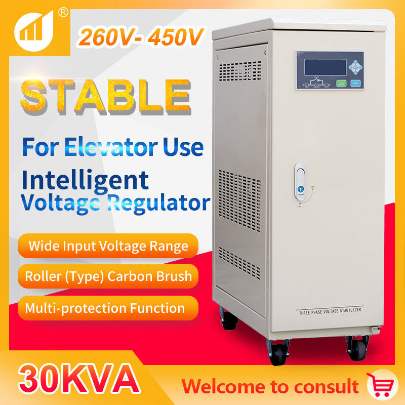 Voltage Stabilizer 30 kVA Three Phase for Elevator Specific